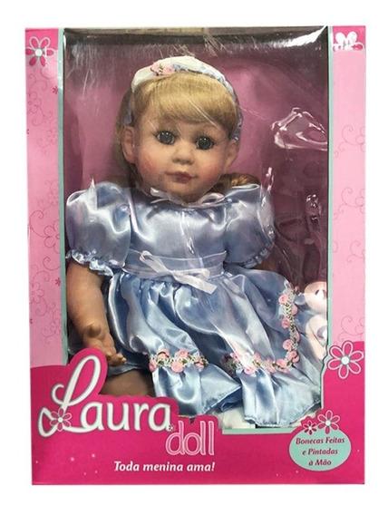 Boneca Laura Doll Bebe Reborn