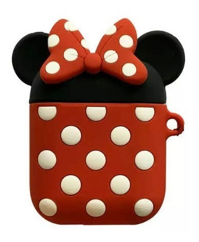 Funda Auriculares AirPods Bluetooth Protector Minnie Mickey