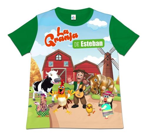 Camiseta Niño La Granja De Zenon Vaca Lola Personalizada
