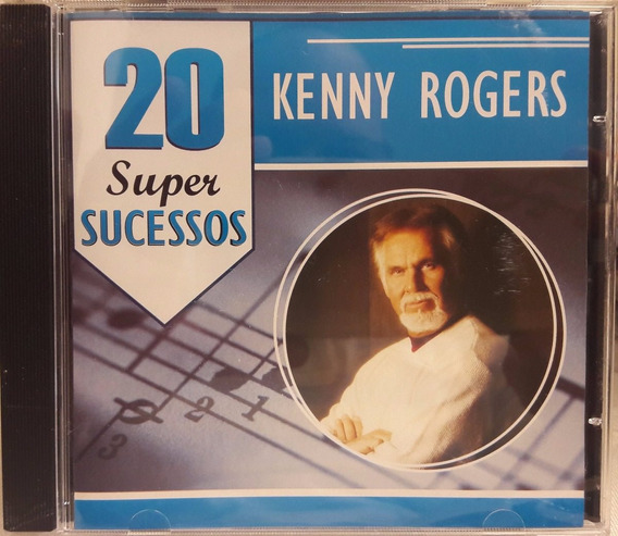 Cd Kenny Rogers - 20 Super Sucessos (country)