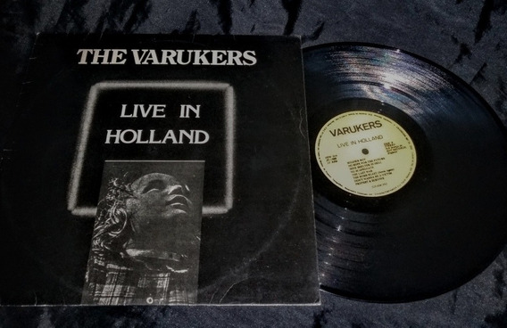 Lp The Varukers Live In Holland Raro 1988 New Face Rec.
