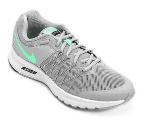 Tênis Masculino Nike Air Relentless 6 Msl Cinza E Verde