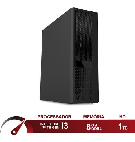 Computador Intel I3 7100 8gb  Hd 1tb Skill Speedup