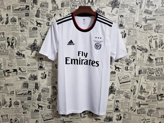Camisa Benfica Branca Ii 18/19 Original