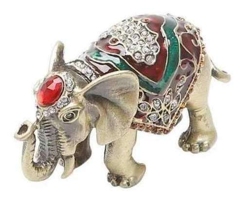 Porta-jóias Elefante 8,5x4x4cm