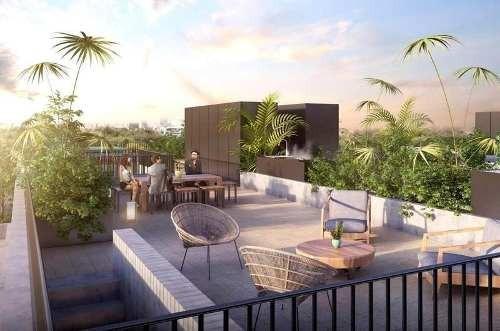 Departamento Garden House En Pre-venta En Hipódromo Condesa, Cdmx