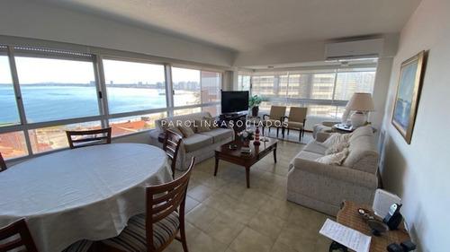 Apartamento Con Excelente Vista A Playa Mansa Y Brava - Consulte !!!!!!- Ref: 1698