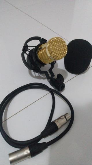 Microfone Condensador Profissional Bm-800 Preto Bm800 M4