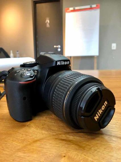 Nikon D5300 Com Lente 18-55mm