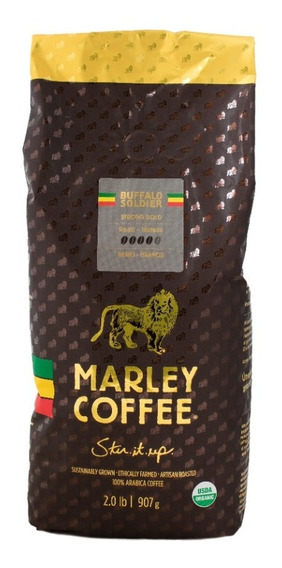 Café Marley Coffee En Grano Buffalo Soldier 907g