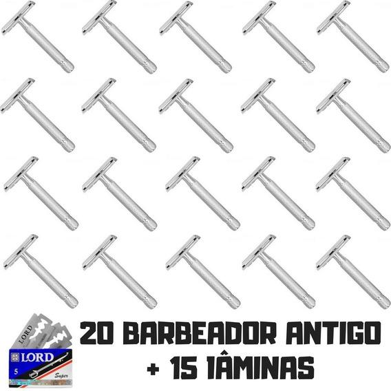 20 Barbeador Aparelho Barbear Antigo Retrô Promoção Oferta