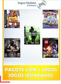 Pacote De 5 Jogos / Ps3 Psn Mídia Digital / Jogo
