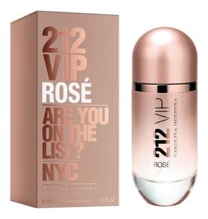 Perfume Mujer Carolina Herrera 212 Vip Rose Edp 80ml