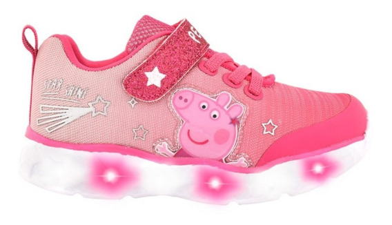 Zapatillas Con Luces Peppa Pig Footy Multiluces Mundo Manias