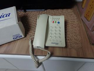 Telefone Fixo De Mesa Telefonica Assist - Domito