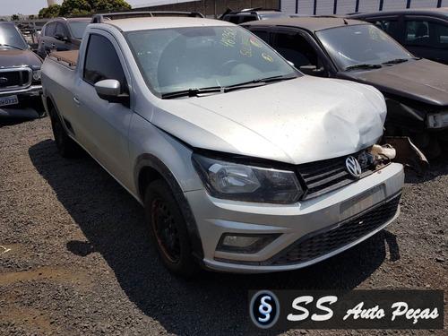 Imagem 1 de 2 de Sucata De Volkswagen Saveiro 2017 - Retirada De Peças