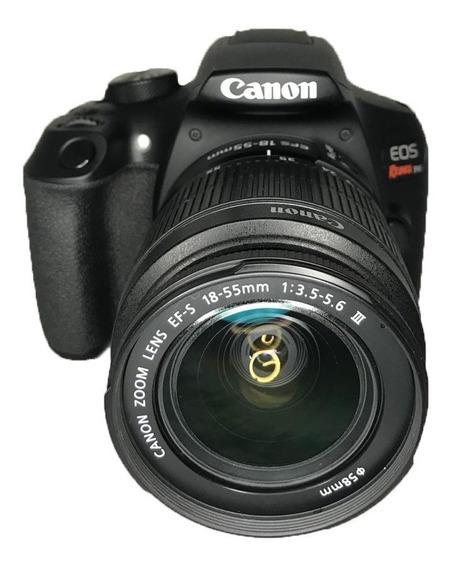 Câmera Canon T6 Seminova + Lente 18-55mm Impecável Garantia
