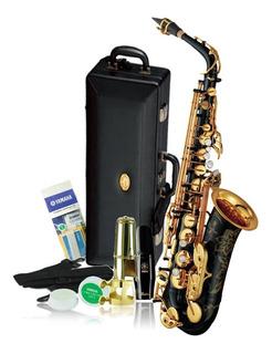 Yamaha Yas-82z Custom Z Alto Saxophone, Black Lacquer