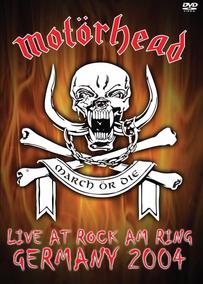 Dvd Motorhead Live At Rock Am Ring Germany 2004 - Lacrado!