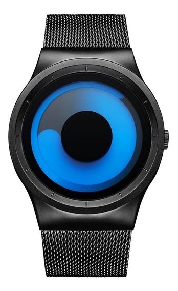 Reloj Hombre Mujer Minimalista Estilo Moderno Geekthink