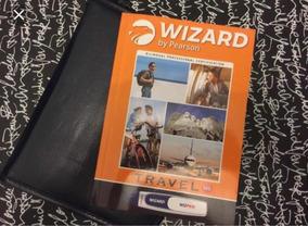 Material De Inglês Wizard W6 Anual Novo. + Caneta (usada)