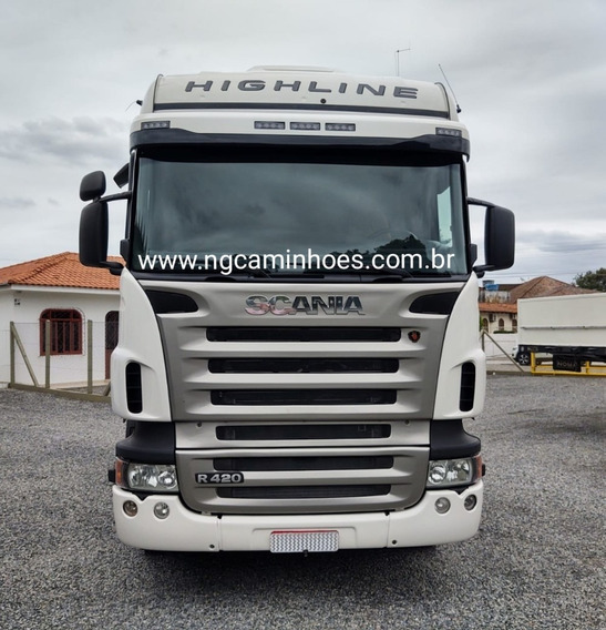 Scania Highline R420 6x2 2008 Topline Top Line Ar R440 Fh440