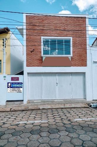Casa A Venda No Centro De Tatuí Com Ponto Comercial !!! - 1369