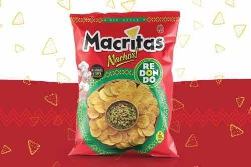 Snacks Macritas Redondos 130gr (caja 14 Unidades)