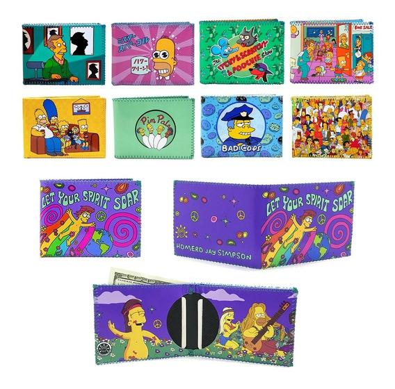 Billeteras Simpsons Hombre, Mujer, Niños - Excelente Calidad