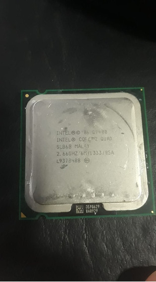 Core 2 Quad Q9400 @2,66ghz 6mb De Cache + Cooler Intel