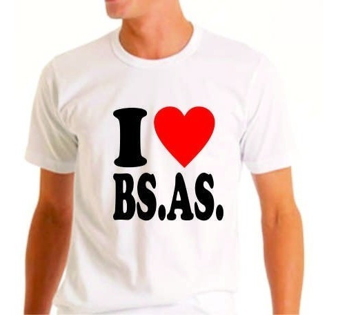 Remera Buenos Aires I Love