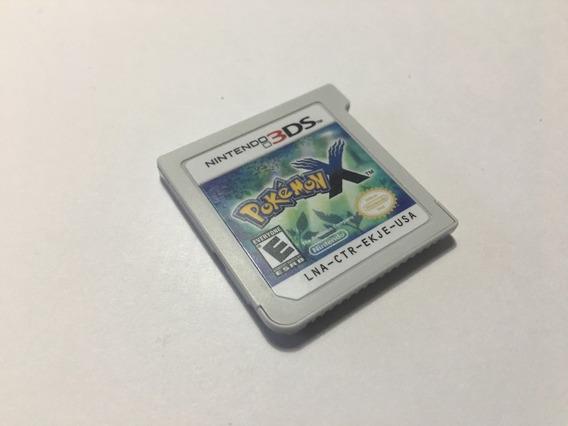 Jogo Pokemon X 3ds Usa, Mídia Física, Só A Fita Original