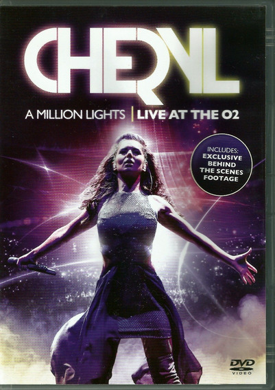 Dvd Cheryl Cole - A Million Lights Live At The O2 - Europeu