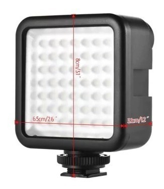 Iluminador Para Camera Dslr 49 Leds Canon Nikon Sony Osmo