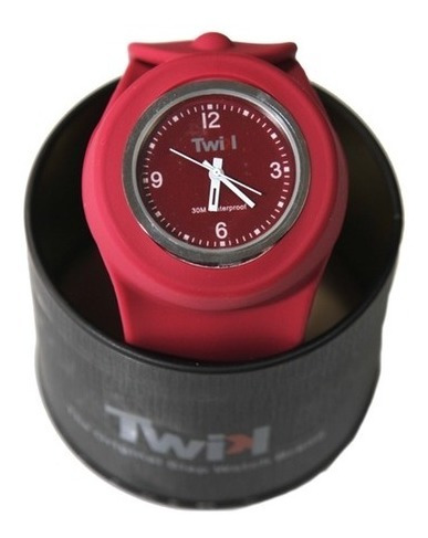 Relógio Twik Slap Bordeaux