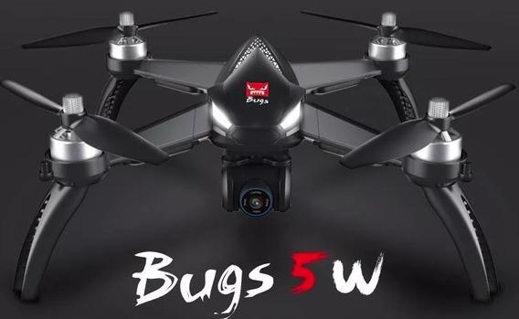 Drone Mjx Bugs 5w B5w Mjx Brushless Camera 1080p + Gps 1 Km Pronta Entrega