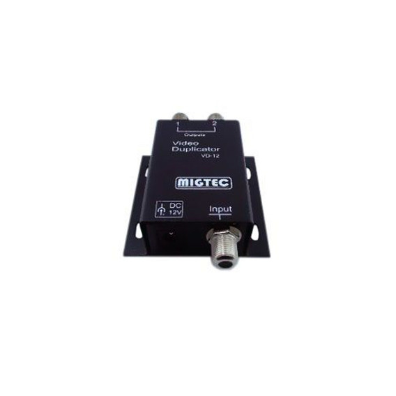 Distribuidor De Video 1x2 Conector F Splitter Migtec - Vd12