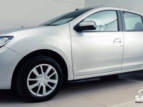 Renault Logan Authentique Hi-flex 1.0 16v 4p 2016 Prata Flex