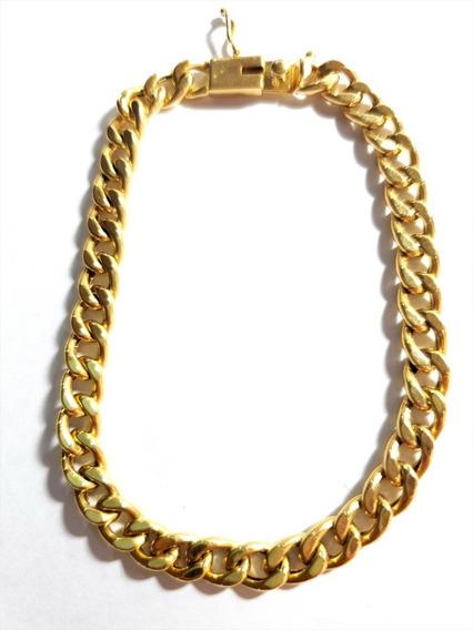 Pulseira De Ouro Grumet 18k - 9.6 Gramas