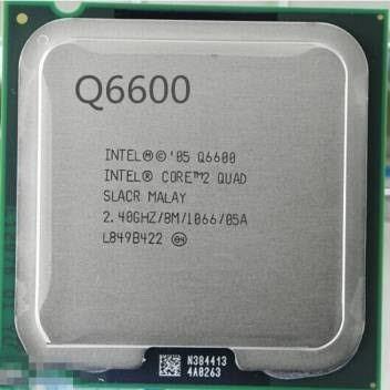 Cpu Core-quad Q6600 (4 Núcleos 4 Threads)
