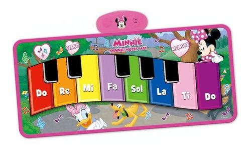 Tapete Piano Con Luces Musical Minnie 12m+ Otras