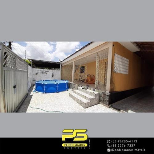 Casa Com 3 Dormitórios À Venda, 120 M² Por R$ 200.000 - Funcionários - João Pessoa/pb - Ca0927