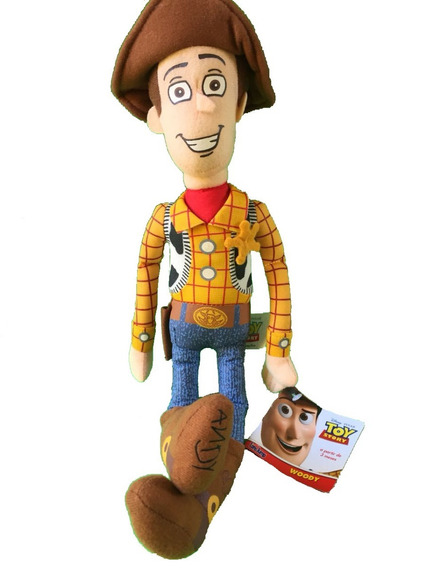 Pelucia Toy Story Boneco Cowboy Wood Original Long