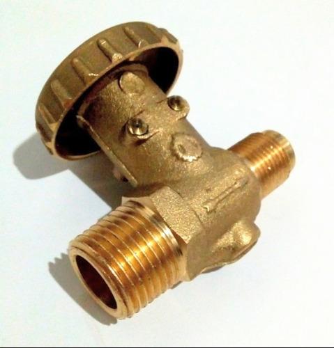 Llave Válvula De Paso Para Gas Agua Aire De 3/8x1/2 Nueva