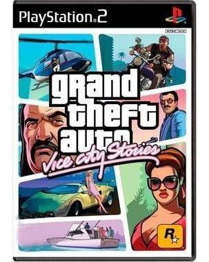 Grand Theft Auto Vice City Stories Gta Ps2 Mídia Física