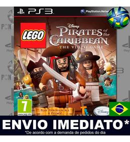Jogo Lego Pirates Of The Caribbean Ps3 Envio Imediato Psn