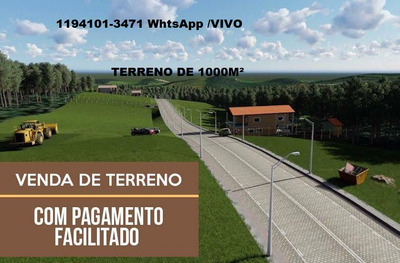 Terreno Plano De 1000m² (be)