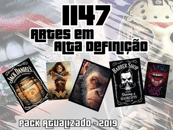 Pack 1147 Artes, Placa, Estampa, Sublimação