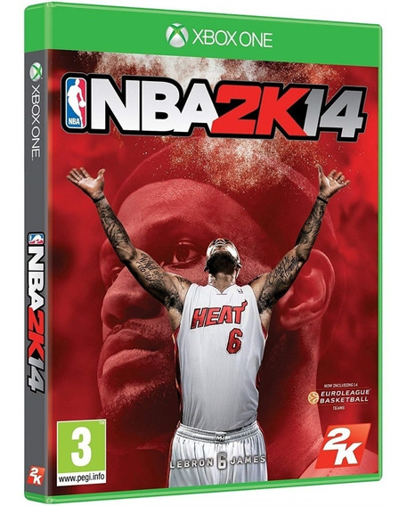 Game Nba 2k14 Xbox One Midia Fisica Lacrado Original Lacrado