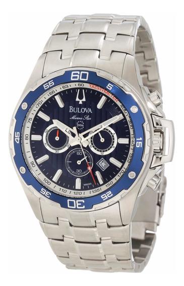 Bulova 98b163 Marine Star Reloj Para Hombre